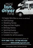 Mini-Bus & Driver Hire