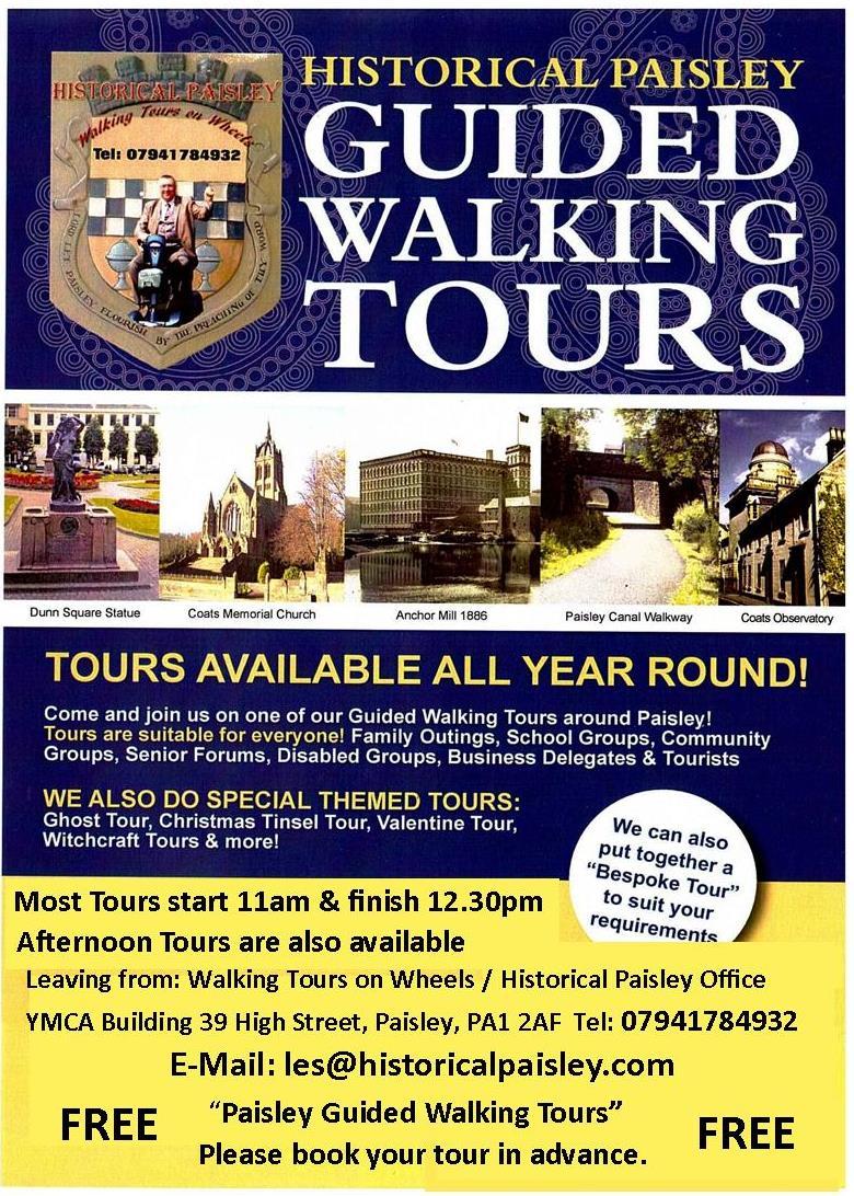 aisley's Free Walking Tours