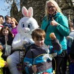 Golden Egg Winner, 2014 Matthew Duncan, With proud Mum & The Paisley Easter Bunny