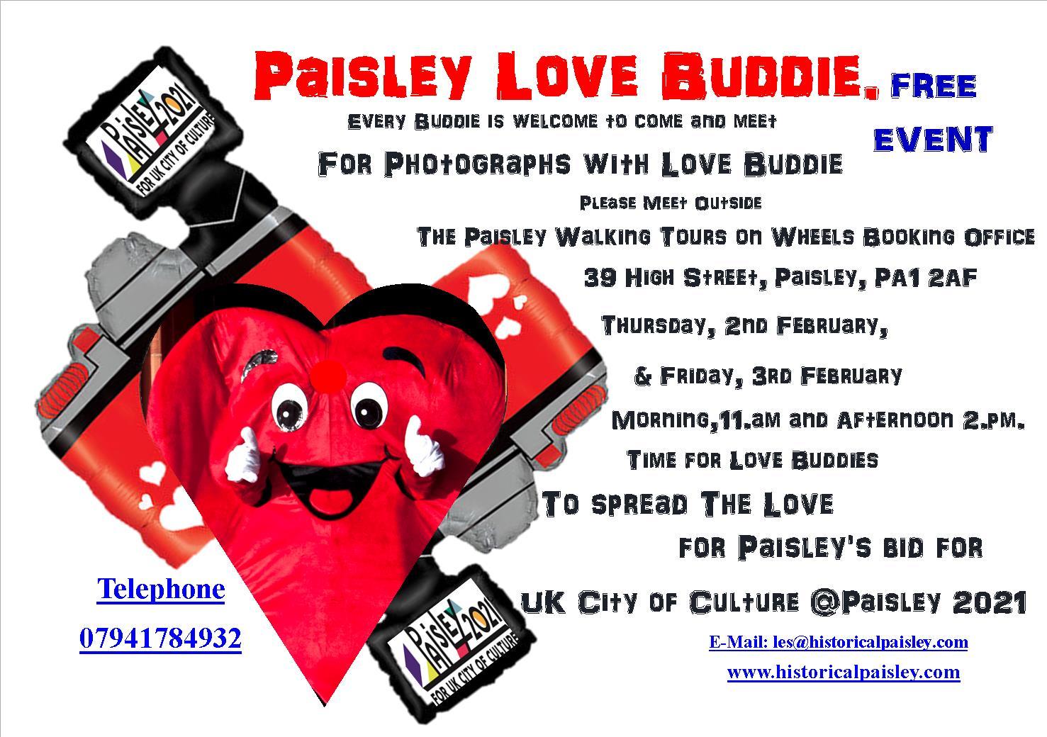Paisley Love Buddie