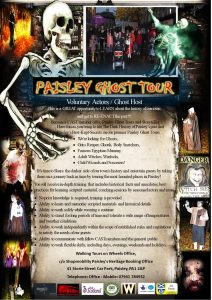 Paisley Ghost Tours Cast-members